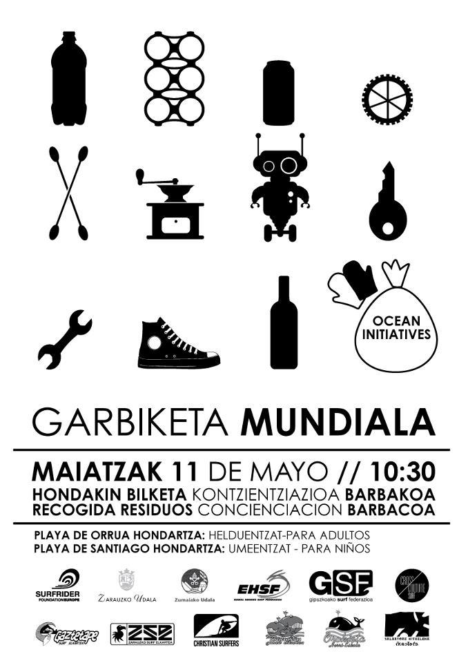 Garbiketa mundiala poster