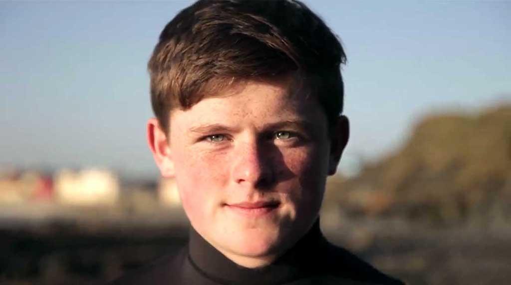 Dylan Noonan, Irish Surfer